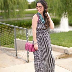 LOFT Dresses - NWT LOFT mosaic stripe maxi dress